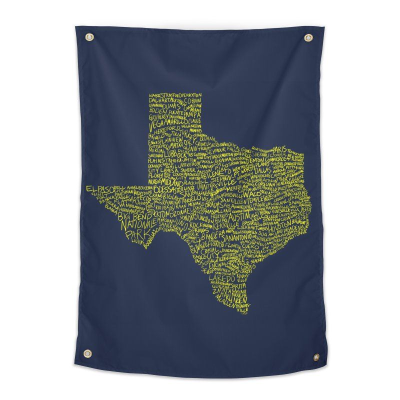Where Y'all From? Home Tapestry by Justin Tapp's Artist Shop