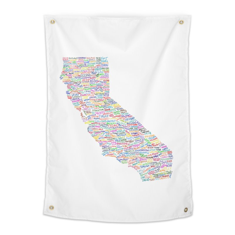 California Vibes Home Tapestry by Justin Tapp's Artist Shop