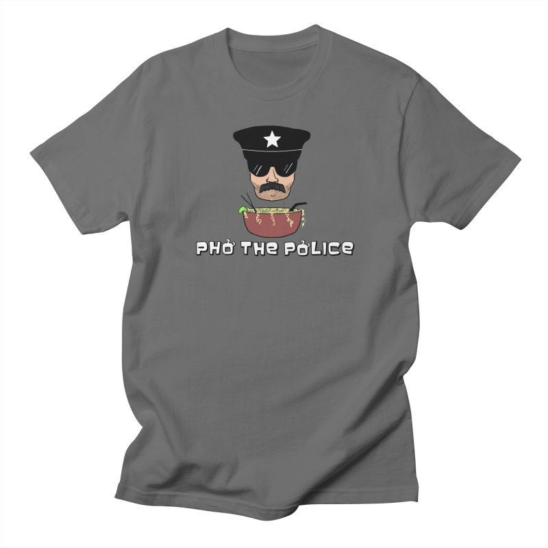 Pho the Police! Men's T-Shirt by Justin Tapp's Artist Shop