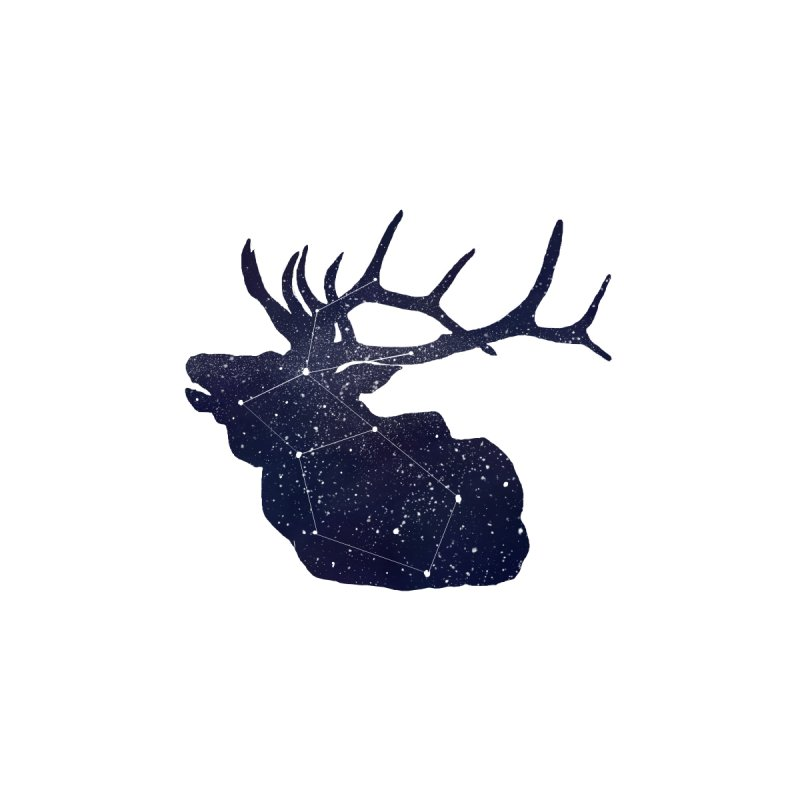 Elkstellation Men's Sweatshirt by Justin Tapp's Artist Shop