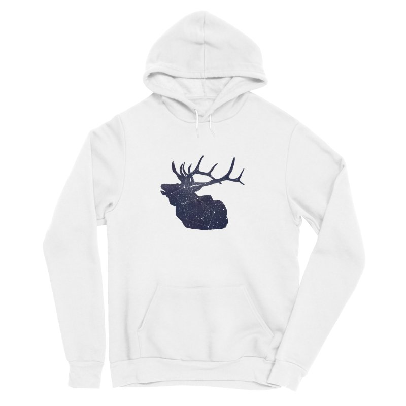 Elkstellation Women's Sponge Fleece Pullover Hoody by Justin Tapp's Artist Shop