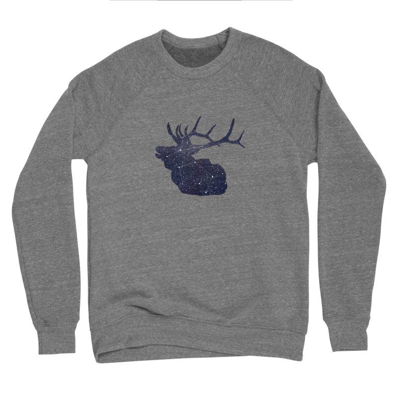 Elkstellation Women's Sponge Fleece Sweatshirt by Justin Tapp's Artist Shop