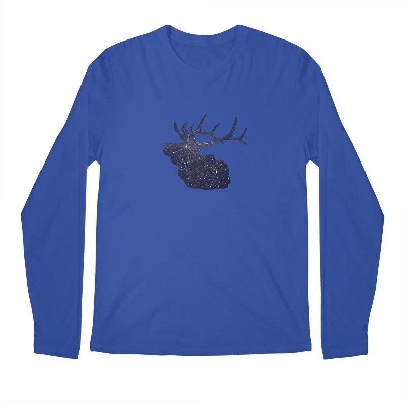 Elkstellation Men's Regular Longsleeve T-Shirt by justintapp's Artist Shop