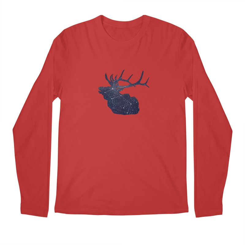 Elkstellation Men's Regular Longsleeve T-Shirt by justintapp's Artist Shop