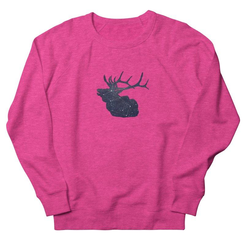 Elkstellation Women's French Terry Sweatshirt by justintapp's Artist Shop
