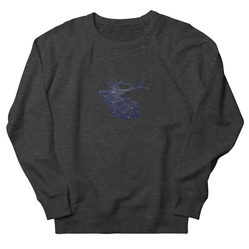 Elkstellation Men's French Terry Sweatshirt by justintapp's Artist Shop