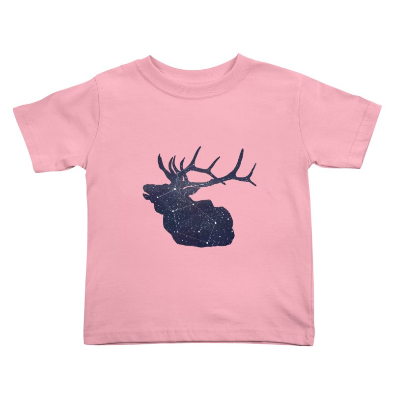 Elkstellation Kids Toddler T-Shirt by Justin Tapp's Artist Shop
