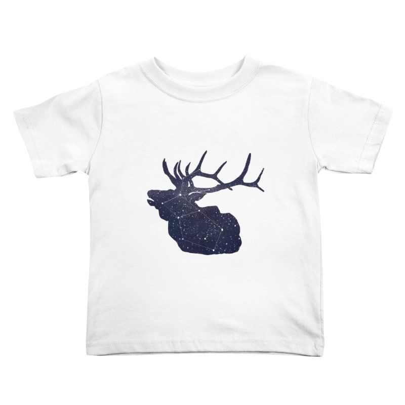 Elkstellation Kids Toddler T-Shirt by Justin Tapp's Artist Shop