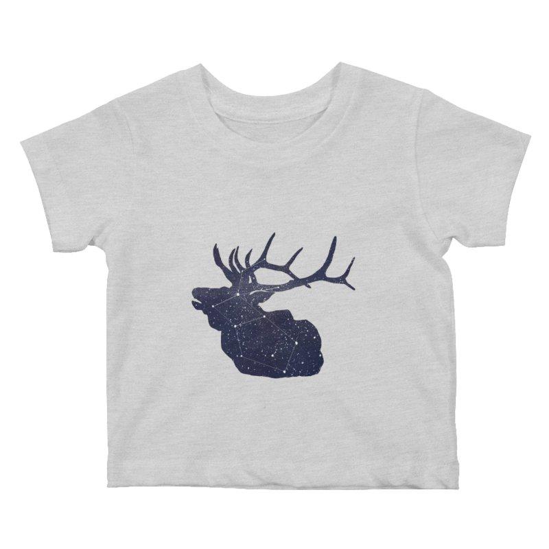 Elkstellation Kids Baby T-Shirt by Justin Tapp's Artist Shop
