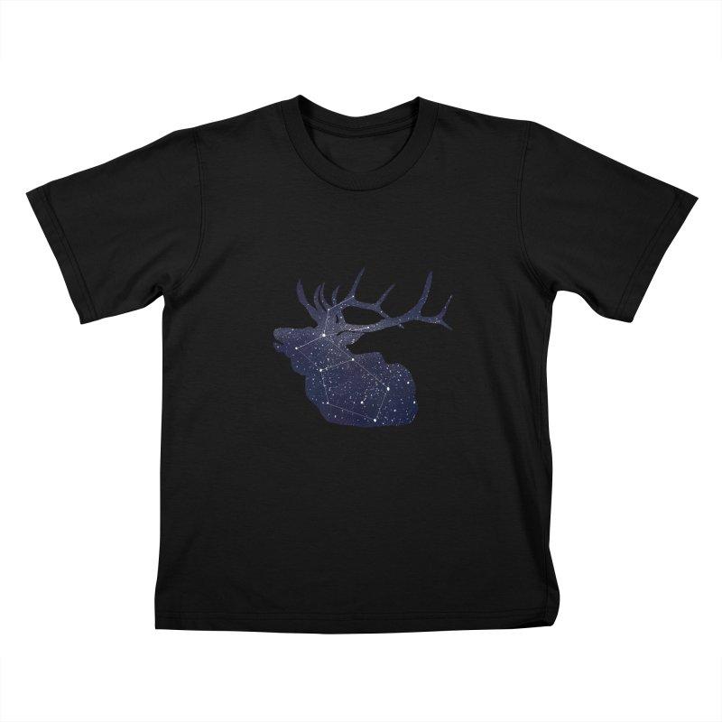 Elkstellation Kids T-Shirt by justintapp's Artist Shop