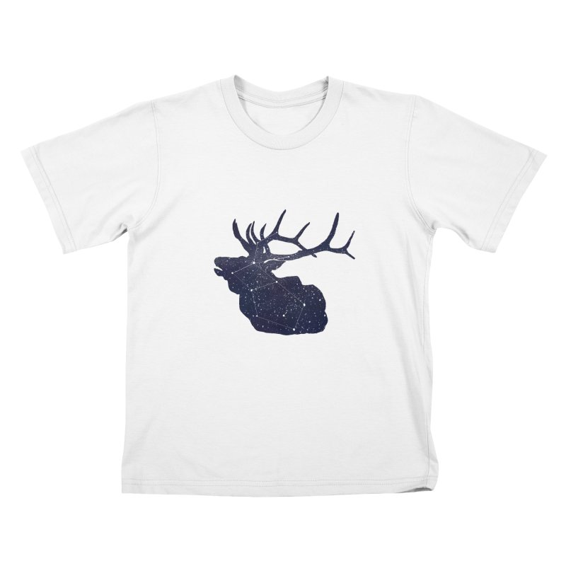Elkstellation Kids T-Shirt by Justin Tapp's Artist Shop