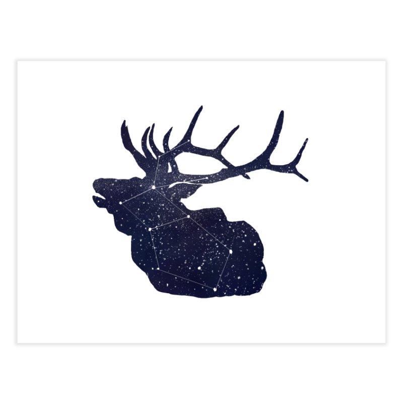Elkstellation Home Fine Art Print by Justin Tapp's Artist Shop