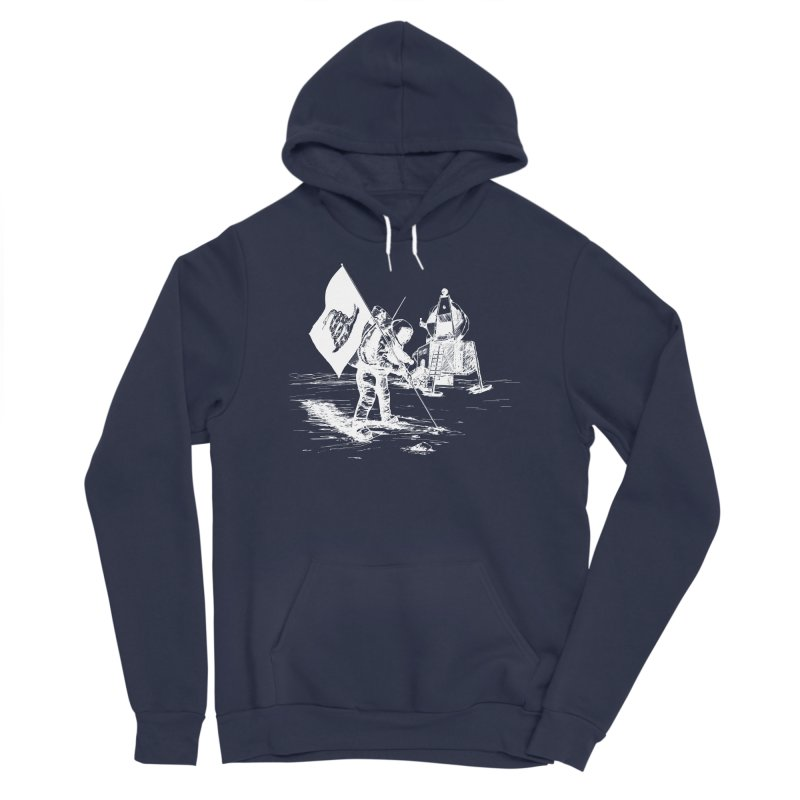 We Got Here First Women's Sponge Fleece Pullover Hoody by Justin Tapp's Artist Shop