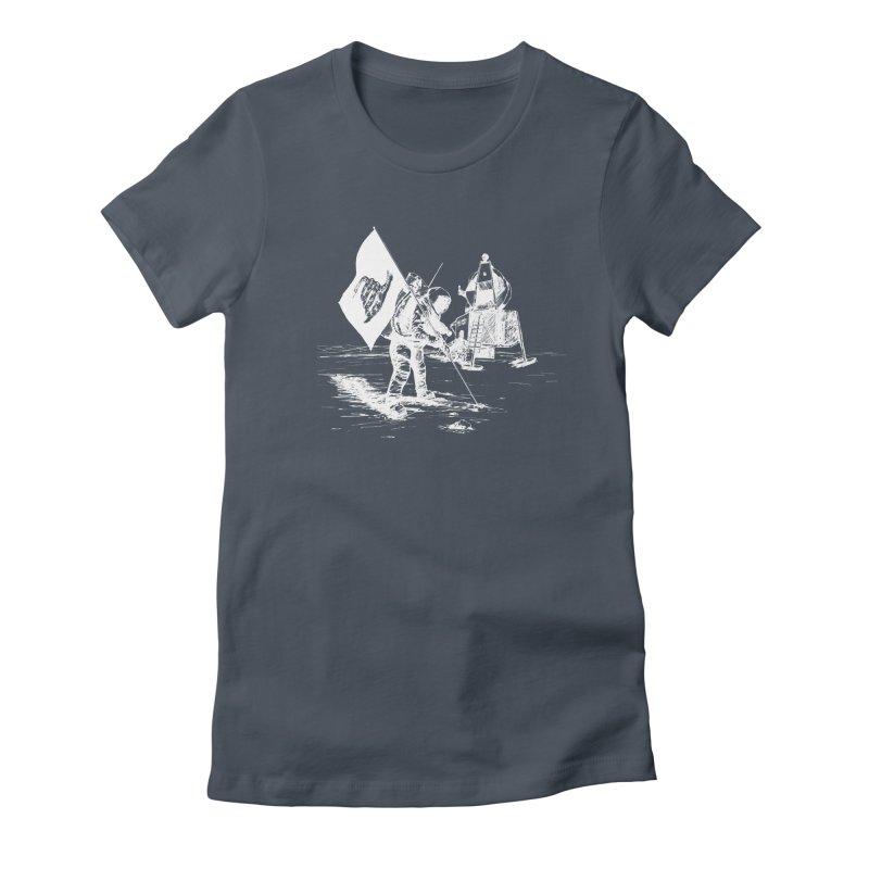 We Got Here First Women's T-Shirt by Justin Tapp's Artist Shop
