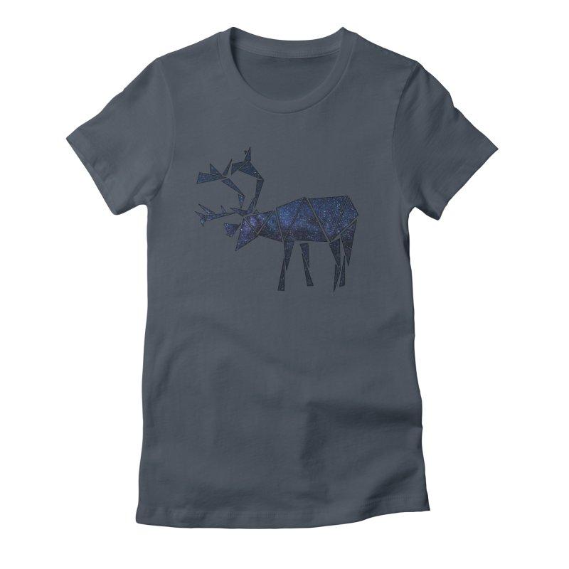 Arctic Nights Women's T-Shirt by Justin Tapp's Artist Shop