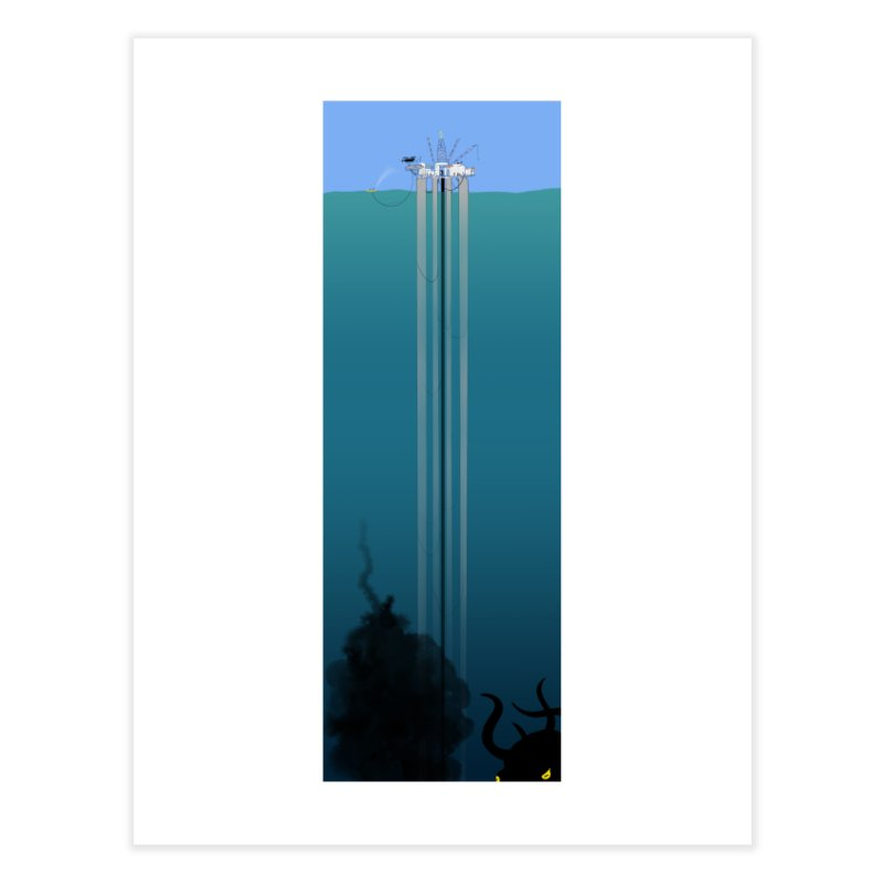 Deepwater Horizon Home Fine Art Print by Justin Tapp's Artist Shop