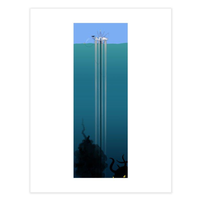 Deepwater Horizon Home Fine Art Print by justintapp's Artist Shop