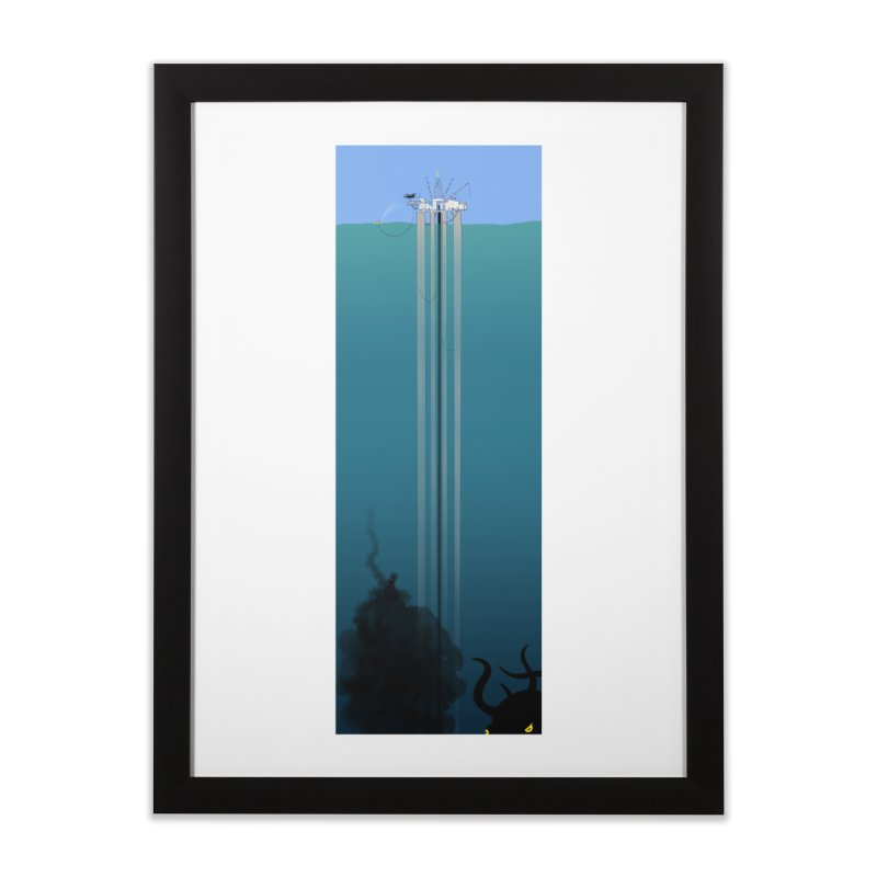 Deepwater Horizon Home Framed Fine Art Print by Justin Tapp's Artist Shop