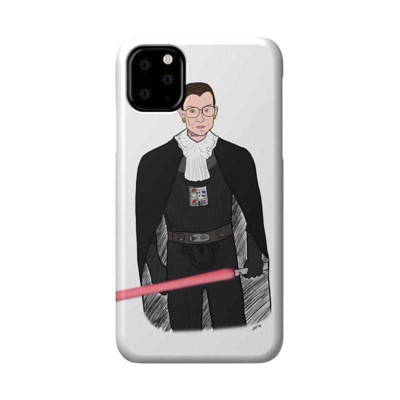 Ruth Vader Ginsburg Accessories Phone Case by Justin Tapp's Artist Shop