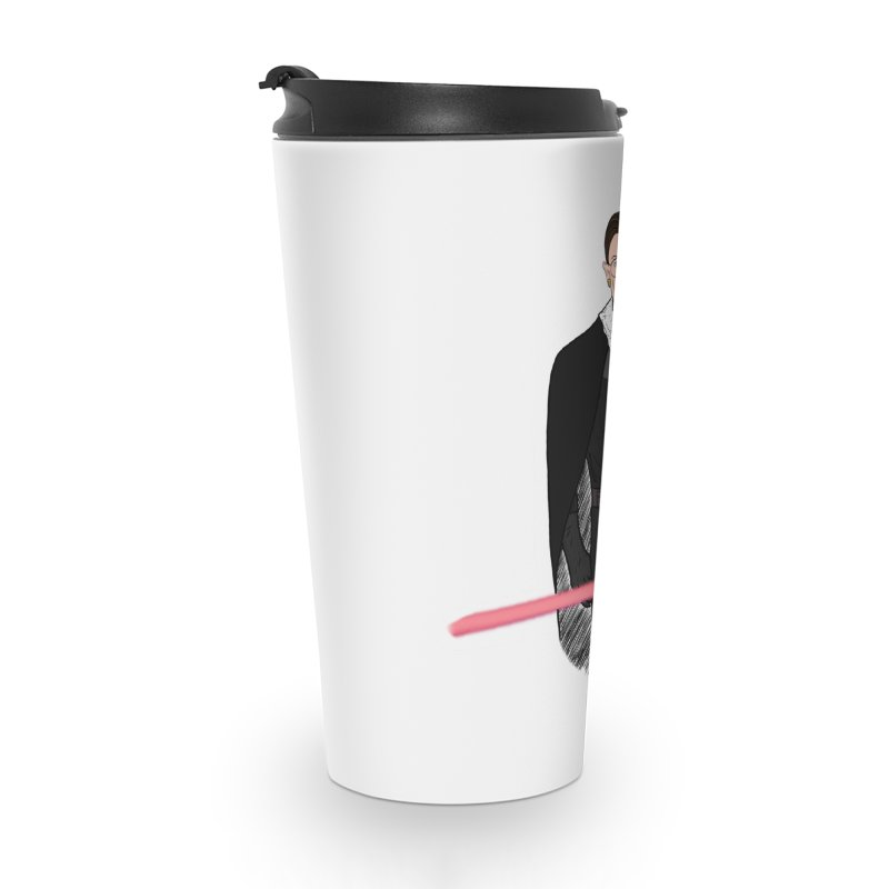 Ruth Vader Ginsburg Accessories Travel Mug by Justin Tapp's Artist Shop