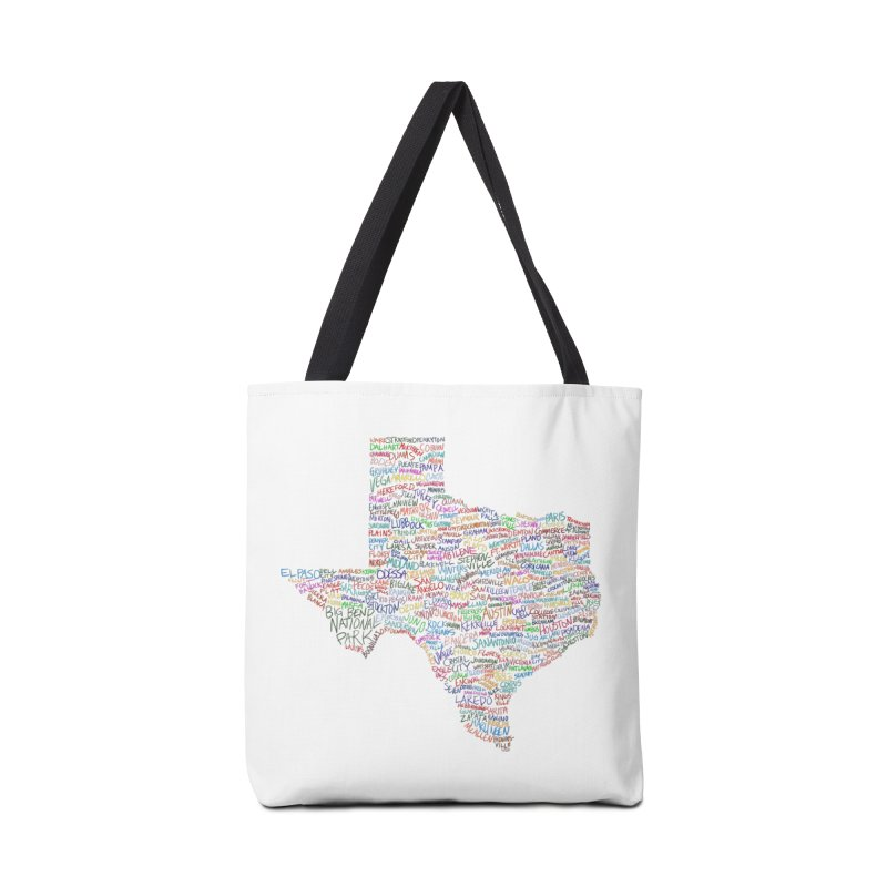 Deep In The Heart Accessories Tote Bag Bag by Justin Tapp's Artist Shop