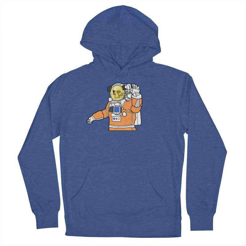 Welcome to Mars Men's French Terry Pullover Hoody by justintapp's Artist Shop