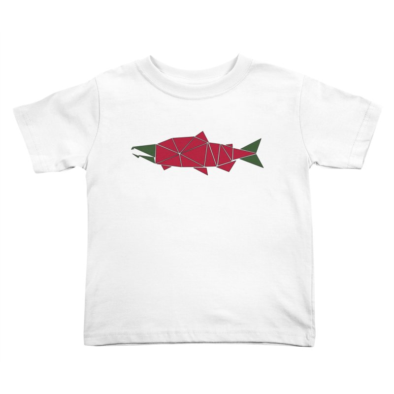 Alaskan Angler Kids Toddler T-Shirt by Justin Tapp's Artist Shop