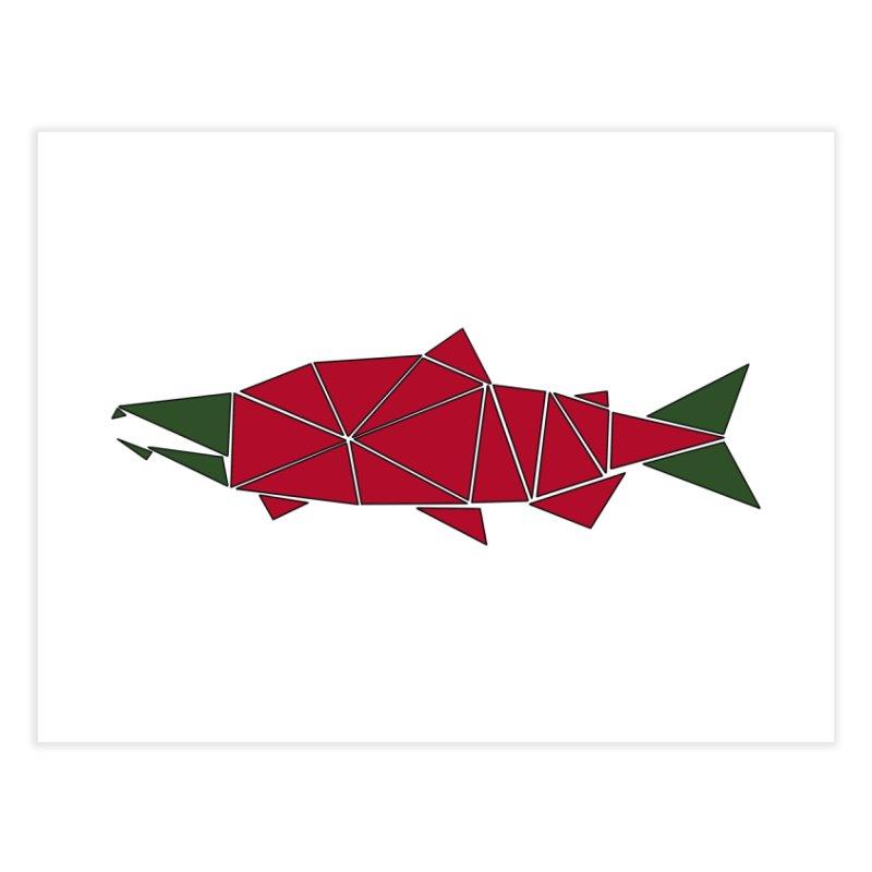 Alaskan Angler Home Fine Art Print by Justin Tapp's Artist Shop