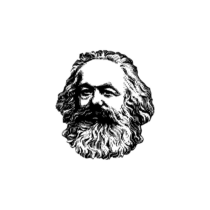 Karl Marx by Justin Tapp's Artist Shop