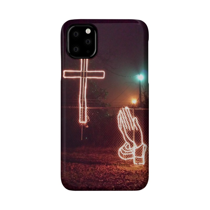 Small Town Lights Accessories Phone Case by Justin Tapp's Artist Shop