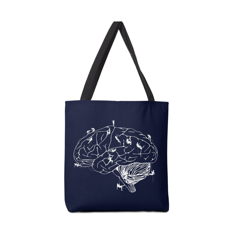 Climbing On The Brain Accessories Tote Bag Bag by Justin Tapp's Artist Shop