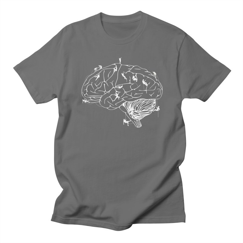 Climbing On The Brain Women's T-Shirt by Justin Tapp's Artist Shop
