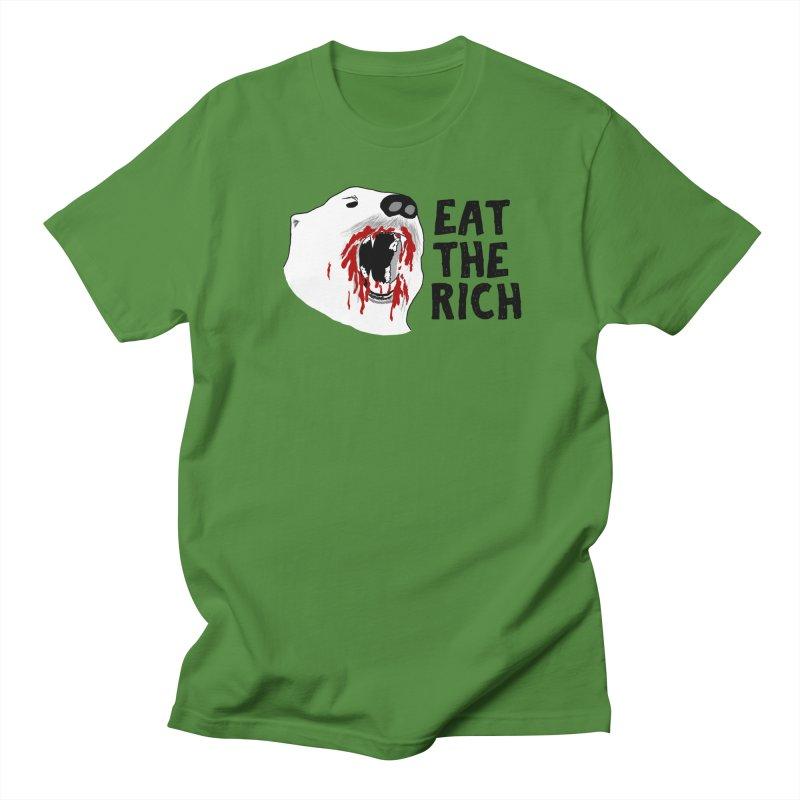 Eat The Rich Men's T-Shirt by Justin Tapp's Artist Shop