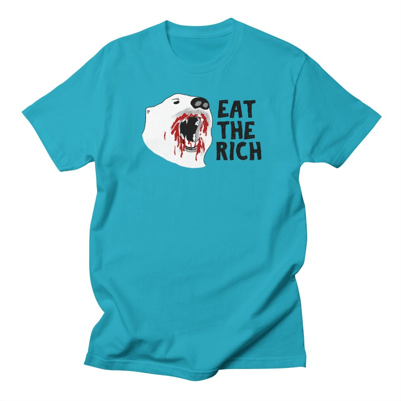 Eat The Rich Men's T-Shirt by Justin Tapp's Artist Shop