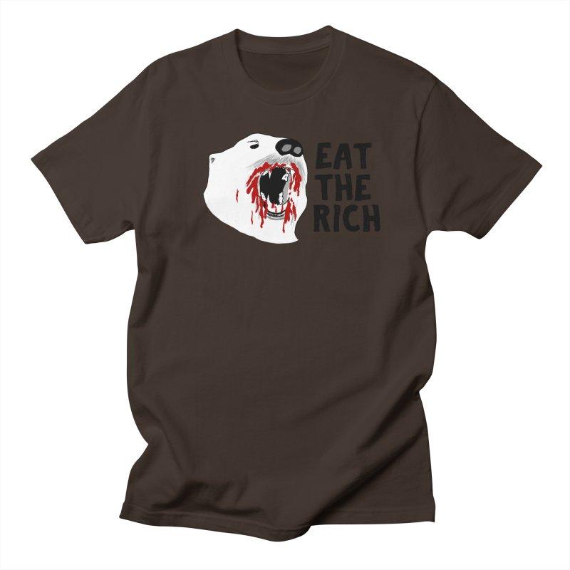 Eat The Rich Men's Regular T-Shirt by Justin Tapp's Artist Shop