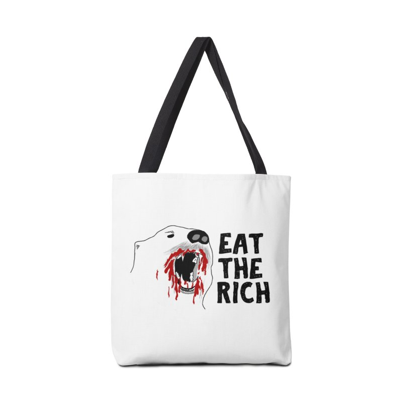 Eat The Rich Accessories Tote Bag Bag by Justin Tapp's Artist Shop
