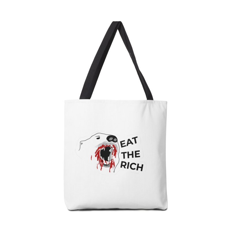 Eat The Rich Accessories Bag by justintapp's Artist Shop
