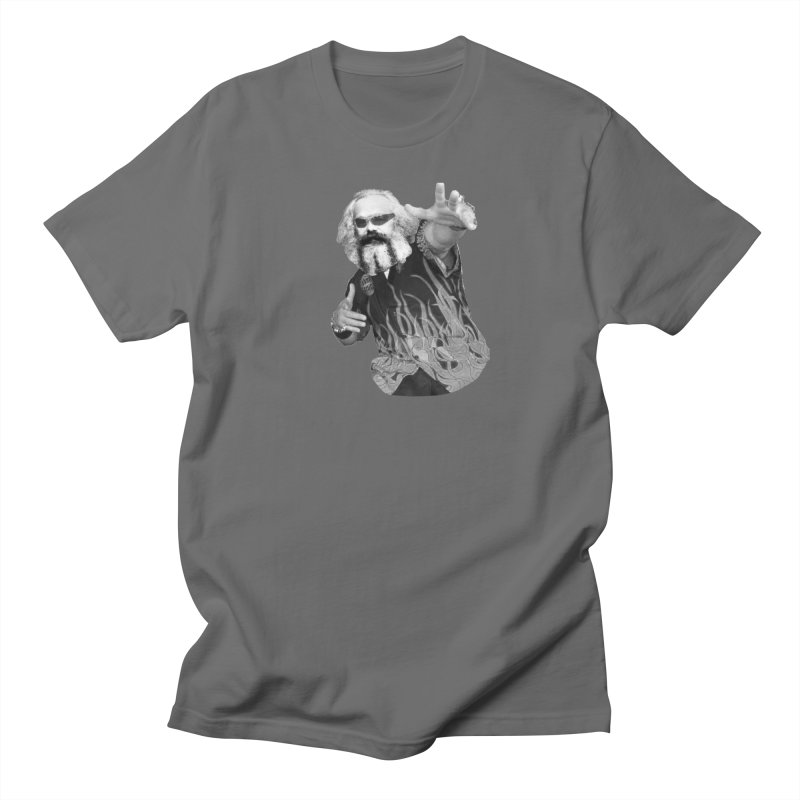 Karl Marx Fieri Men's T-Shirt by Justin Tapp's Artist Shop