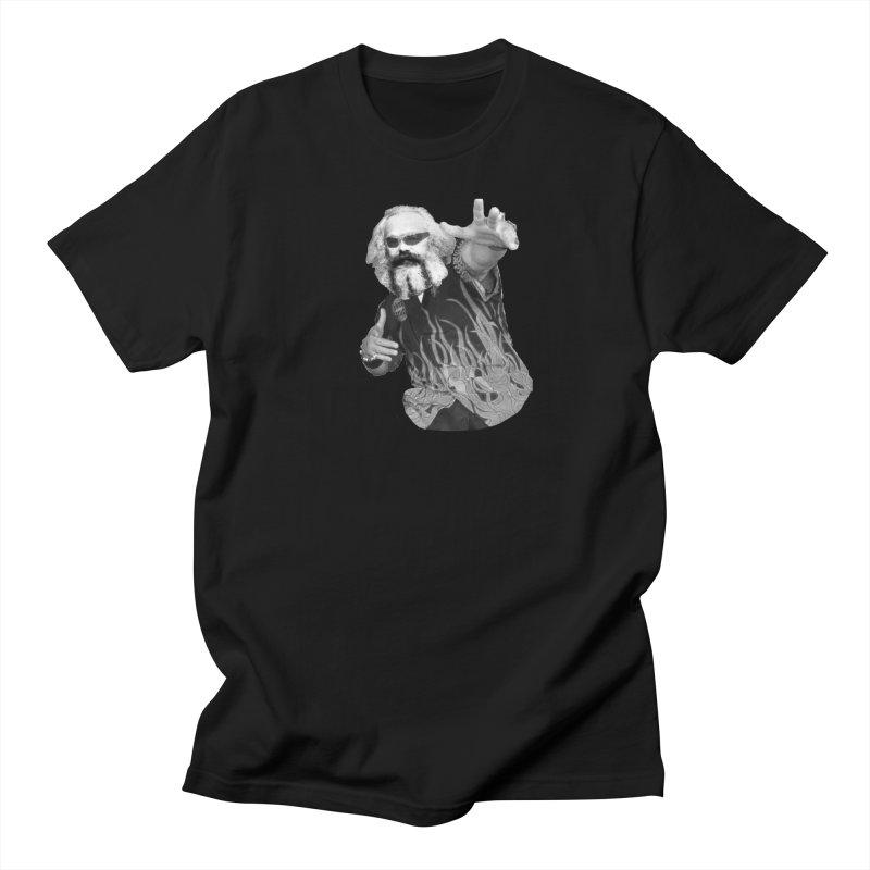 Karl Marx Fieri Men's Regular T-Shirt by Justin Tapp's Artist Shop