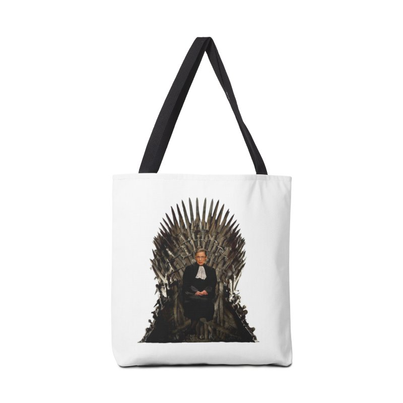 Ruth Breaker Chainsburg Accessories Tote Bag Bag by Justin Tapp's Artist Shop
