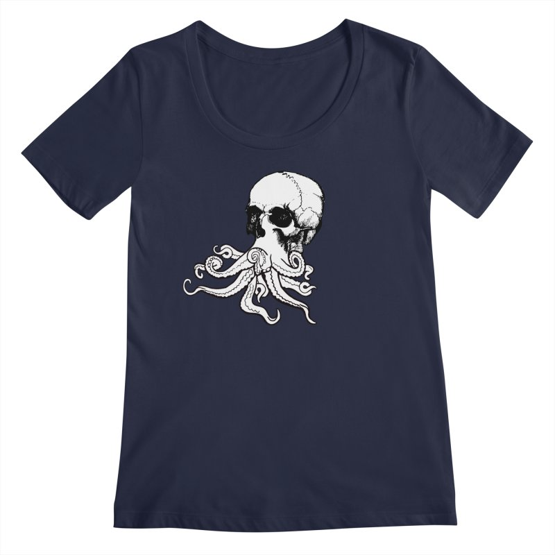 What Is Dead May Never Die Women's Regular Scoop Neck by Justin Tapp's Artist Shop