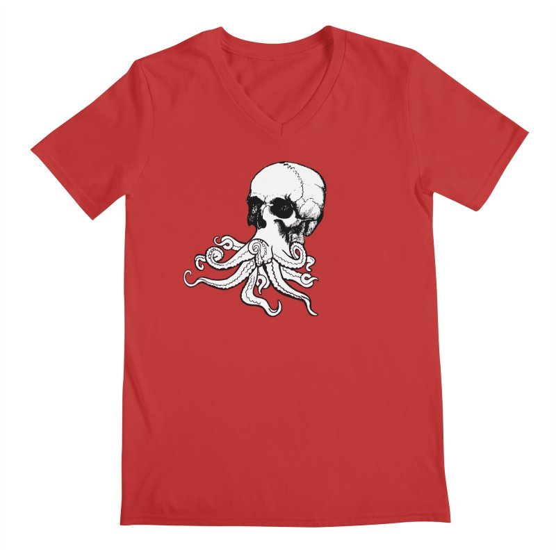 What Is Dead May Never Die Men's Regular V-Neck by Justin Tapp's Artist Shop