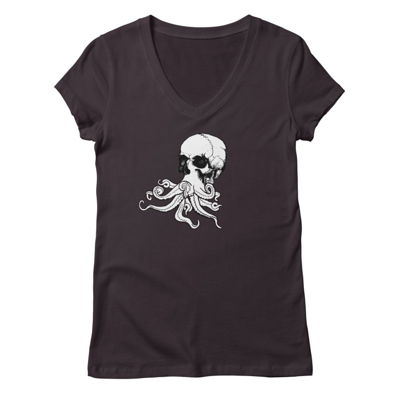 What Is Dead May Never Die Women's Regular V-Neck by Justin Tapp's Artist Shop