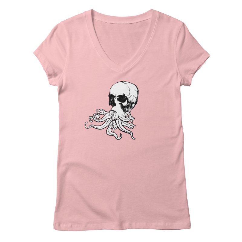What Is Dead May Never Die Women's Regular V-Neck by justintapp's Artist Shop