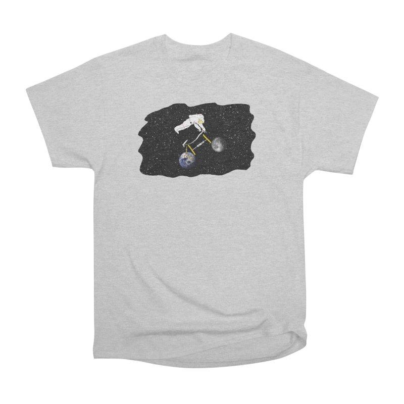 Tour d'Éspace Women's Heavyweight Unisex T-Shirt by Justin Tapp's Artist Shop