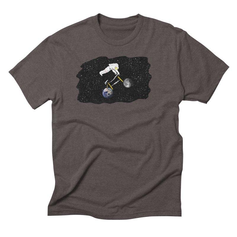 Tour d'Éspace Men's Triblend T-Shirt by Justin Tapp's Artist Shop