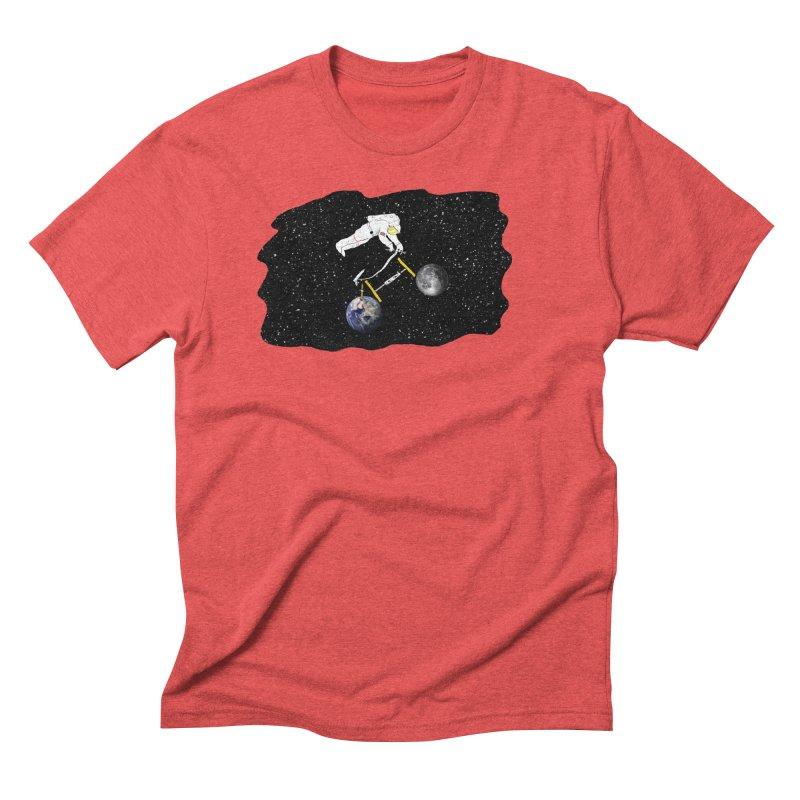 Tour d'Éspace Men's Triblend T-Shirt by justintapp's Artist Shop