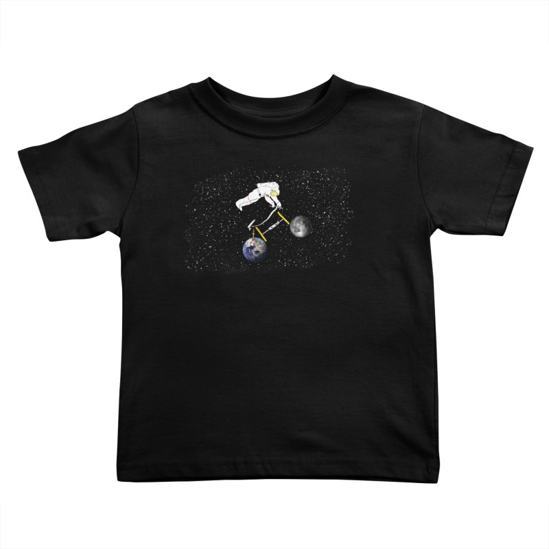 Tour d'Éspace Kids Toddler T-Shirt by Justin Tapp's Artist Shop