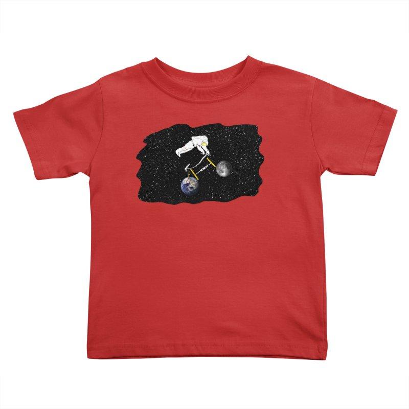 Tour d'Éspace Kids Toddler T-Shirt by justintapp's Artist Shop