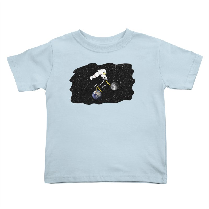 Tour d'Éspace Kids Toddler T-Shirt by Justin Tapp's Artist Shop